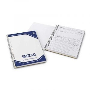 Sparco Pacenote Book