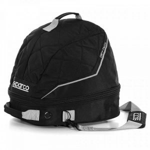 Sparco Dry-Tech Helmet and F.H.R. Collar Bag