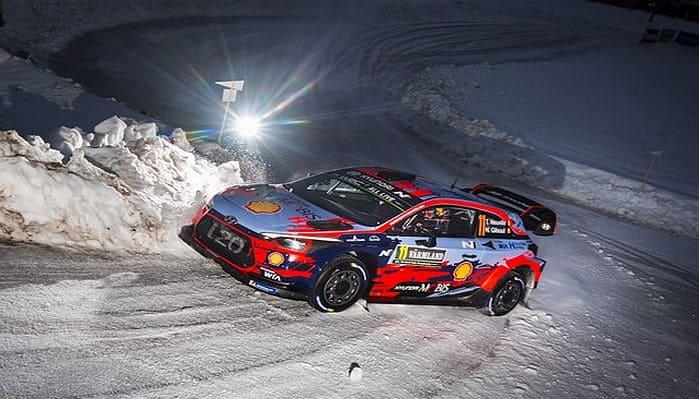 2020 Svéd Rally infó, Breen-re cseréli Loeb-öt a Hyundai
