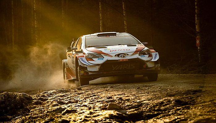 Tarolt a Toyota a Svéd Rali teszten, Rovanpera az élen!