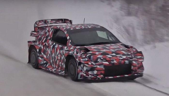 A Toyota már teszteli az új Yaris WRC-t