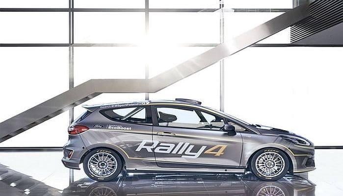 Elkészült a Fiesta Rally4