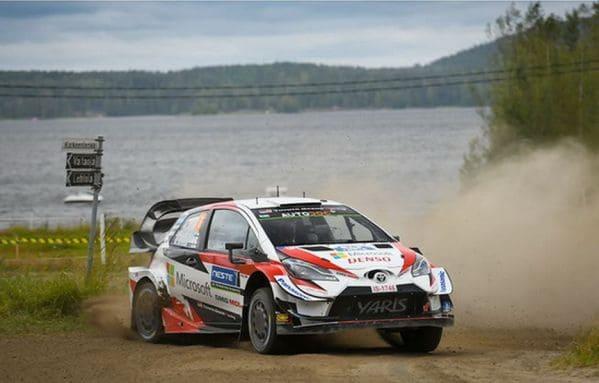 Öt Yaris-szal készül a Finn Rallyra a Toyota