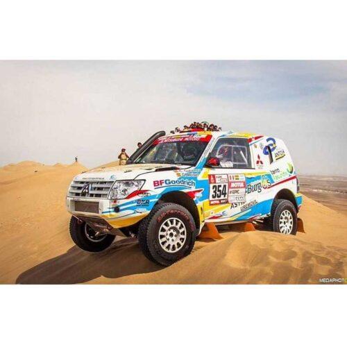 Braid Fullrace T Dakar TCT 🚗 Verseny Felni
