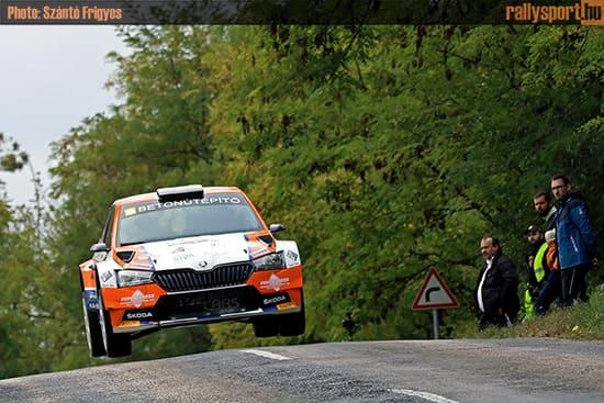 Első győzelmét szerezte Velenczei a Vértes Rallyn