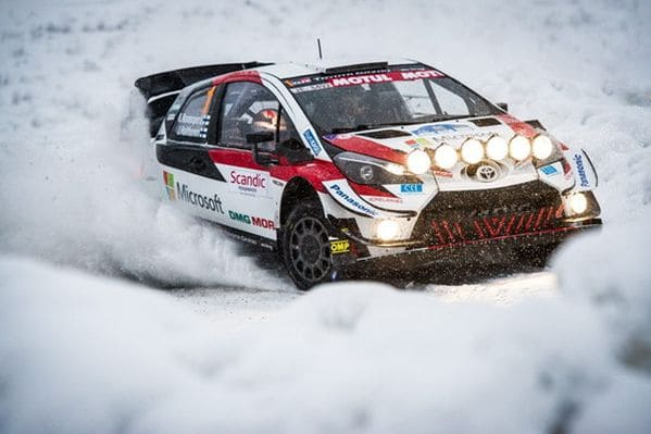 Tíz gyorsasági alkotja a havas Finn VB futamot