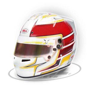 Bell KC7-Cmr Lewis Hamilton karting 🏎 Kart Verseny Sisak