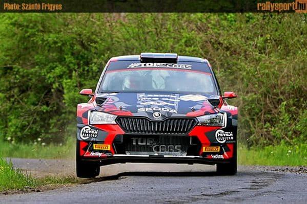 Kopecky nagy hajrával nyerte az Ózd-Eger Rallyt