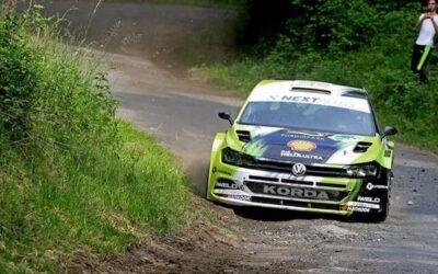 Nem ilyen Salgó Rallyra készült a Korda Racing