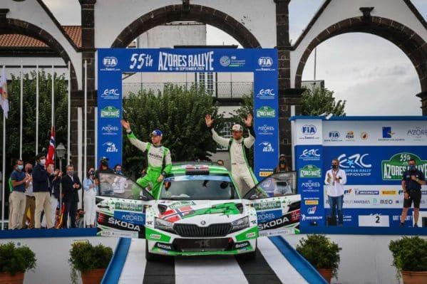 Andreas Mikkelsen nyerte az Azori-szigetek Rallyt